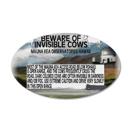 COWS 35x21 Oval Wall Decal
