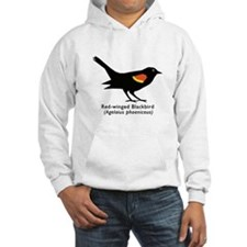 red-winged blackbird Hoodie