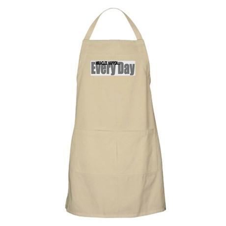 Miracles Happen BBQ Apron
