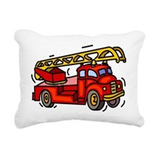 firetruck Rectangular Canvas Pillow