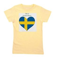 SwedeHeart-sq Girl's Tee