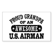 Proud Grandpa of an Awesome US Airman Decal
