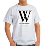 Great Huge Garamond W T-shirt (Ash)