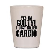 cardio-b Shot Glass