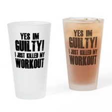 workout-b Drinking Glass