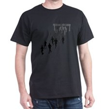Running People Faded T-Shirt