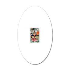 HawaiiiPhone4Slip 20x12 Oval Wall Decal