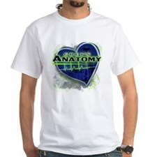Greys Anatomy TV Fan White T-Shirt