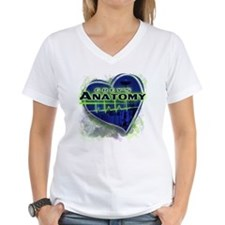 Greys Anatomy TV Fan Women's V-Neck T-Shirt