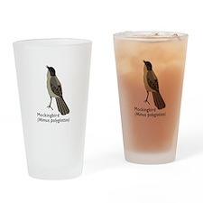 mockingbird Drinking Glass