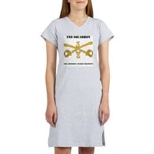 DUI-2-3RD ARMORED CAVALRY REGIM Women's Nightshirt