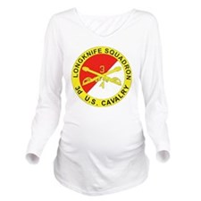 4-3D ARMORED CAVALRY Long Sleeve Maternity T-Shirt