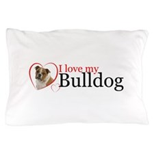 Love a Bulldog Pillow Case