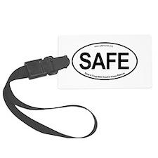 SAFE_carsticker Luggage Tag