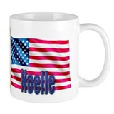 Noelle American Flag Gift Mug