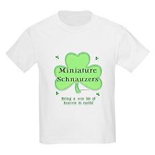 Mini Schnauzer Heaven Kids T-Shirt