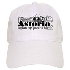astoria-transparent Baseball Cap