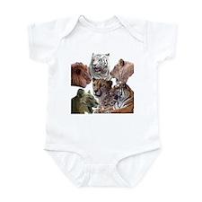 big cats Infant Bodysuit