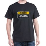 WARNING - this t-shirt contai T-Shirt