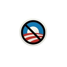 Obama Logo Crossed 5000px 0f Mini Button