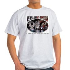 Remembering 9/11 Ash Grey T-Shirt