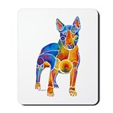 English Bull Terrier Art Gifts Mousepad