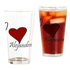 Alejandra.gif Drinking Glass