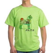 Akita national treasure color nb PNG T-Shirt