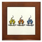 3 Ib's! Framed Tile