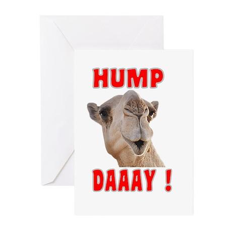 Hump Daaay Camel Greeting Cards