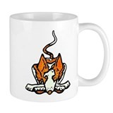 Ib in Orange Small Mug