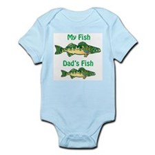 My fish, dad's fish - Infant Bodysuit