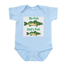 My fish, dad's fish - Onesie
