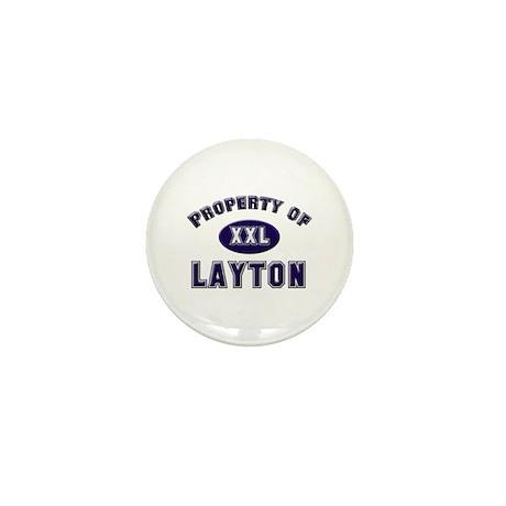 Property of layton Mini Button