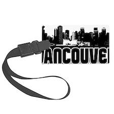 Vancouver Skyline Luggage Tag