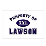 Property of lawson Postcards (Package of 8)