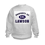 Property of lawson Sweatshirt