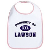 Property of lawson Bib