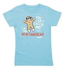 Ninjabread Man Girl's Tee
