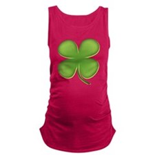 Four Leaf Clover Maternity Tank Top