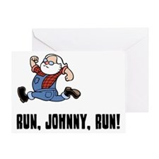 run-johnny-LTT Greeting Card