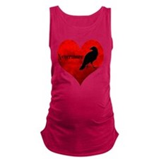 HEART_Crow Maternity Tank Top