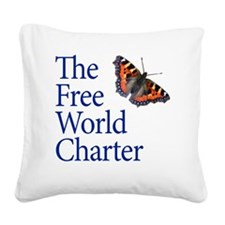 FWC-logo2-SQUARE Square Canvas Pillow