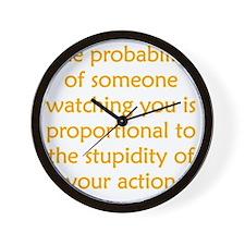 probability_stupid3 Wall Clock