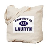 Property of lauryn Tote Bag