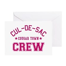 cougar-town-cul-de-sac-crew Greeting Card