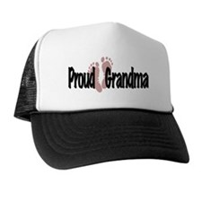 Proud Grandma Pink Long Hat
