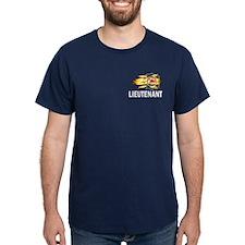 Fire Department Lieutenant T-Shirt