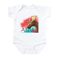 Alaskan Moose Infant Bodysuit