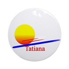 Tatiana Ornament (Round)